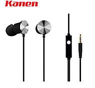 Kanen IP-609 Portable In-ear Stereo Earphone w/ Microphone for BlackBerry / HTC
