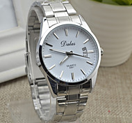 Fashion Dalas Dial Stainless Steel Bracelet Wrist Watch For Men