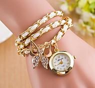 femme Diamond Watch papillon poignet