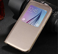 Original PU Leather Smart Auto-Sleep Full Body Case for Samsung Galaxy S6 G9200 (Assorted Colors)
