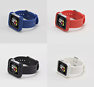 New 42mm Silicone Strap Bracelet Wrist Band Replacement Cover For Apple Watch