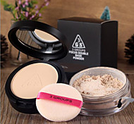 New 3 GROUPS® Double Uses High Light Shadow Powder/Loose Powder  1Pc