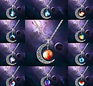 Designer Jewelry Star Pendant Necklace Satement Necklace(Random Color)
