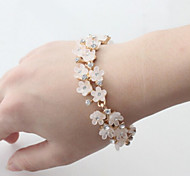 Fashion Jewelry High Quality Fresh Rhinestone Flower Bracelet
