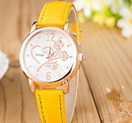 Woman Rose Diamond Wrist  Watch Cool Watches Unique Watches
