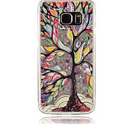 albero pittura nera pc phone case sabbie mobili stella stereoscopico per Samsung Galaxy S4 / S5 / S6 / s6edge (colori assortiti)
