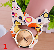 Woman A little Color Ring Strap Wrist  Watch