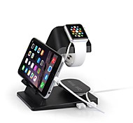 USB Charger Dock Charging Station Stand Holder for Apple Watch For iPhone 5S 6 Plus iPad Air Mini Dual USB Cord Winder