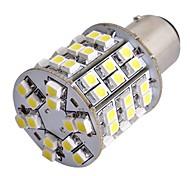 2pcs Car T25 BAY15D 1157 Tail Stop Brake Bulb 3528SMD White 60 LED light 12V