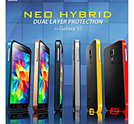 Protective TPU+PC Bumper Frame with Back Cover for Samsung Galaxy S5 i9600 (Assorted Colors)