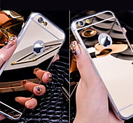 Acrylic Crystal Mirror Soft Back Case for iPhone 5/5S/5SE/6/6S/6 PLUS/6S PLUS