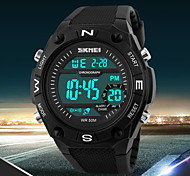 Men's LCD Digital Sport Watch Fashion Sporty Stopwatch