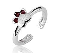 925 di alta qualità anelli lavoro manuale anello elegante PROMIS argentati delle donne pure per le coppie