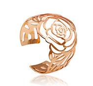 Simple Style Roset Hollow Out  Alloyd Bracelet
