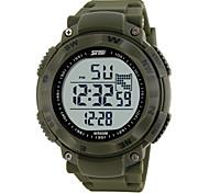 Digital Watch Creative Big Rotatable Compass Waterproof Watch for Men