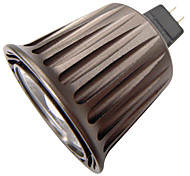 6W GU5.3(MR16) Faretti LED R63 1 COB 500 lm Bianco caldo / Luce fredda Decorativo DC 12 / AC 12 V 1 pezzo