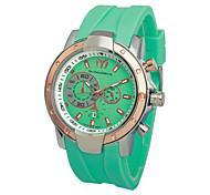 A Nail Style Men'S Watch Men'S Casual Sport Wrist Strap Calendar Function Fashion Is Waterproof Watch