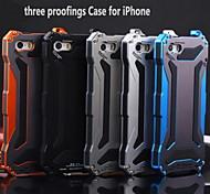klw 3 nel caso in cui antipolvere impermeabile 1 metallo quakeproof per iPhone 6 Plus