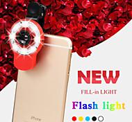 rk09 9 em 1 multifuncional ajudante beleza selfie especializada com lente luz do flash