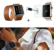 Long Double Tour Apple Watch Herme Style Band Leather Strap for iWatch 38/42mm Get a Screen Protector