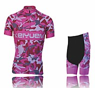 KEIYUEM Cycling Clothing Sets/Suits Unisex BikeWaterproof / Breathable / Insulated / Quick Dry / Rain-Proof / Dust Proof / Windproof /