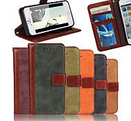 """dépoli bourse en cuir étui en cuir couture de luxe avec protecteur d'écran pour iPhone 6 / 6s 4.7 """""""