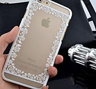 nuevo patrón en relieve mate rosa caja del teléfono de la impresión material de la PC para el iphone 6 / 6s (varios colores)