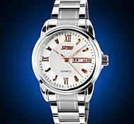 Sunday Calendar Luminous Watch Men Strip Genuine Business Men Waterproof Quartz Watch Cool Watch Unique Watch