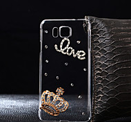 DIY Crown Pattern PC Hard Case for Multiple Samsung Galaxy S3/S4/S5/S6/S6Edge/S6EdgePlus/S7