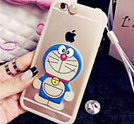 Call Flash 3D Cartoon Mobile Phone Cases/Covers Silicone For IPhone 6/6s (Assorted Colors)