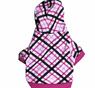 Dog Hoodie Purple Dog Clothes Winter Christmas Fashion