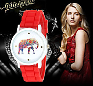2016 new female elephant Geneva Ms. quartz watch watch silicone watch Cool Watches Unique Watches