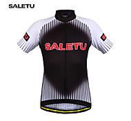 SALETU New Men's Cycling Clothing Bike Sportswear Short Sleeve Top Shirt Bicycle Quick-Dry Cycling  jerseys