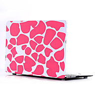 Pink Stone Style PC Materials Water Stick Flat Shell For MacBook