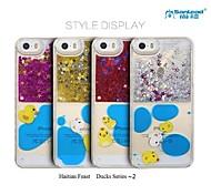 sanlead Haití serie festivos patos ~ 2 pc con el polvo y la caja posterior líquido para iphone6,6s (colores surtidos)