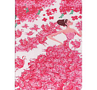 Princess Pattern PU Leather Protective Sleeve For Samsung Galaxy Tab E 9.6 T560