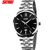 Genuine New Men's Fashion Calendar Waterproof Steel Watches Wrist Watch Cool Watch Unique Watch