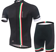 XINTOWN Cycling Bike Short Sleeve Jersey Shorts Set Bicycle Sportswear Clothing Suit S-3XL