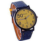 Ladies' Watch Cowboy Fashion Personality Type PU Watch Strap Quartz Watch