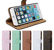 Chinese Style Luxury Leather Case With Screen Protector for iPhone 6/6S 4.7""