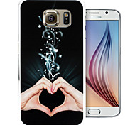 concentrische patroon pc Cover Case voor Samsung Galaxy S6 / S6 rand