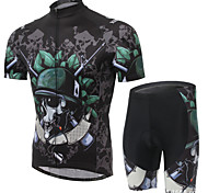 XINTOWN Ultraviolet Resistant Cycling Bike Bicycle Sports Clothing Short Sleeve Jersey Pants Wear Suit