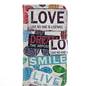 Special font Pattern Cell Phone Leather For iPhone 6plus/6S plus