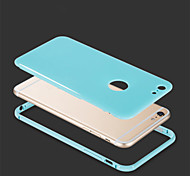 For iPhone 5 Case Other Case Back Cover Case Solid Color Hard Aluminium iPhone SE/5s/5