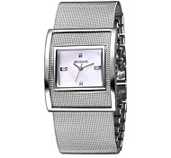 WEIQIN@ Women's Bracelet Watches Luxury&Fashion Silver Quartz Wristwatches Waterproof Dress Watch