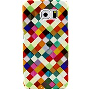 Mosaic Pattern Hard Plastic Back Case for Samsung Galaxy S6 G920 / S6 Edge G925 / S6 Edge Plus G928