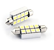 8 SMD LED CANBUS 214 569 интерьер света шарика 43мм (2 шт)