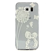 The Child Pattern TPU Soft Relief Case for Samsung Galaxy S7/S7 edge