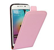 For Samsung Galaxy Case Flip Case Full Body Case Solid Color PU Leather Samsung A8 / A7 / A5 / A3