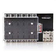 Carchet Vehicle Fuse Box Fuse Holder Fuse Block 12X